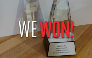 PRISM Marketing healthcare award for Clearblue video